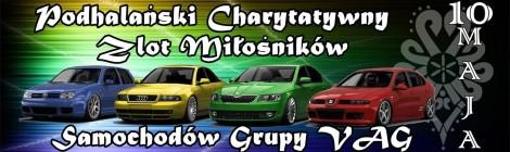 Podhalański Charytatywny Zlot Miłośników samochodów grupy VAG