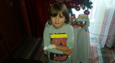 Pawełek ma 6 lat....